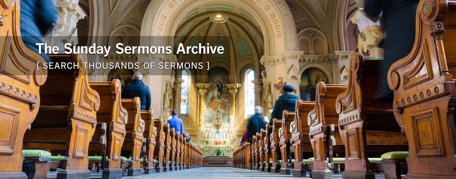 Sunday Sermons Preaching Resources